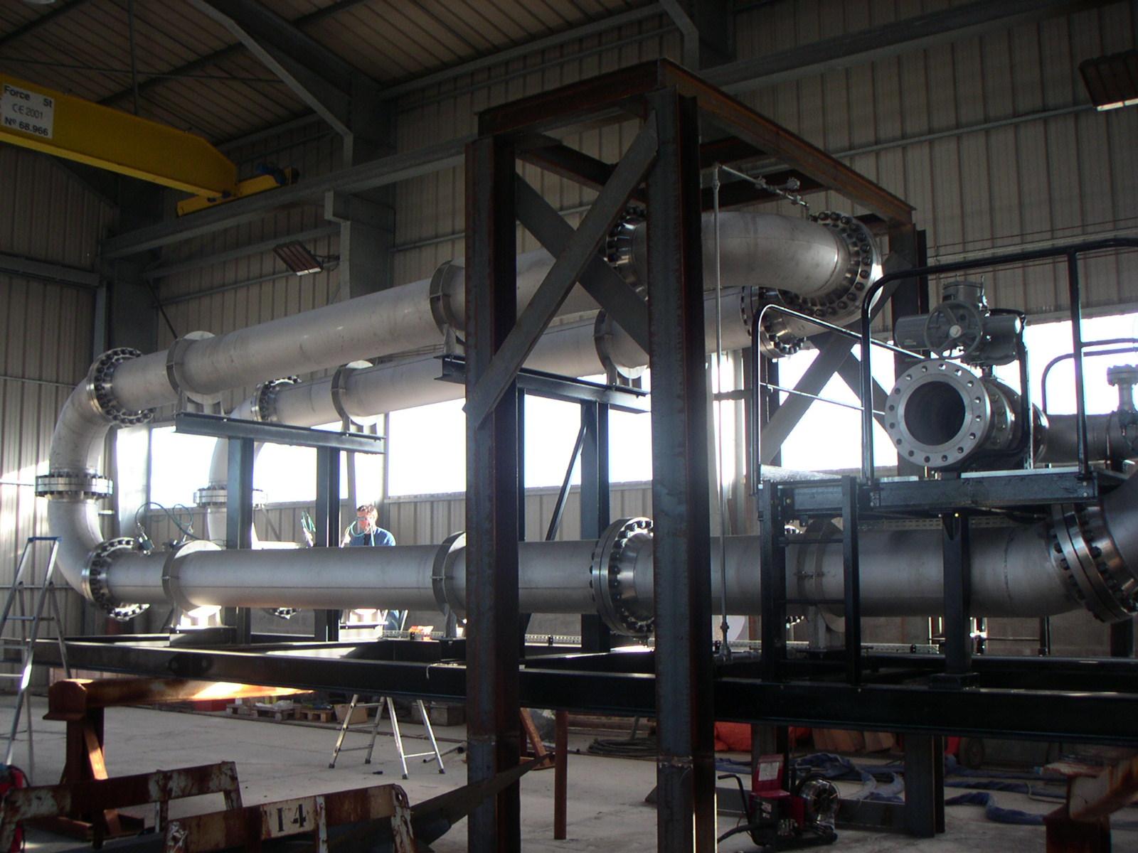 پروژه تأمین مصالح، نصب و راه اندازی تجهیزات ابزار دقیق